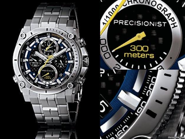 Orologio da uomo Bulova Precisionist Cronograph