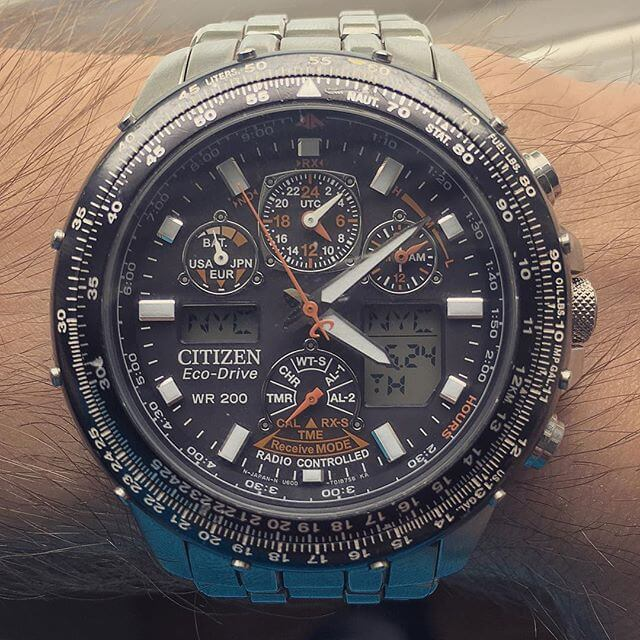 citizen skyhawk at titanium