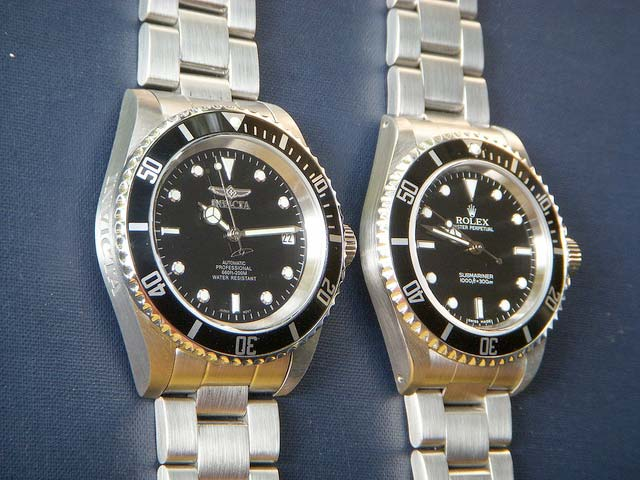 Invicta 8926OB e Rolex SubMariner