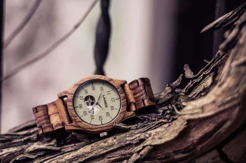 orologio in legno Laimer Automatik in legno Grand Edition