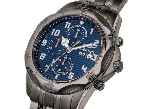 Sector 950: la linea di orologi da uomo di fascia media