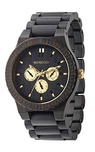 orologio in legno Wewood Kappa Black Pro