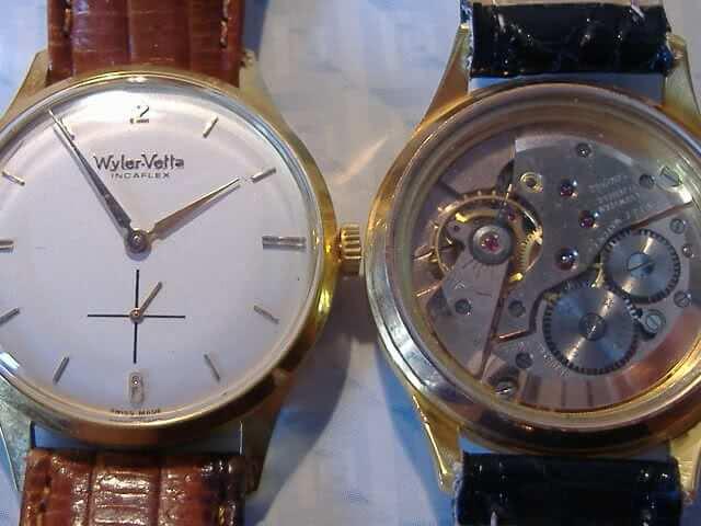 orologio vintage Wyler Vetta Incaflex