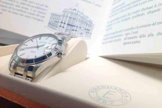 Eberhard Aquadate: orologio sportivo di gran classe