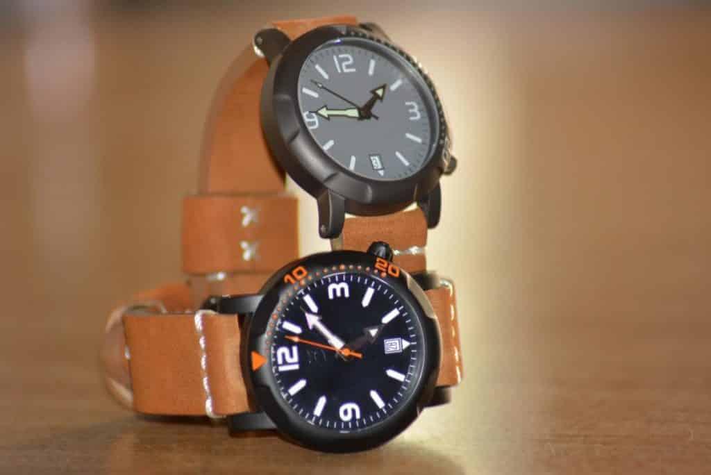 medelli scuro watches nero e grigio