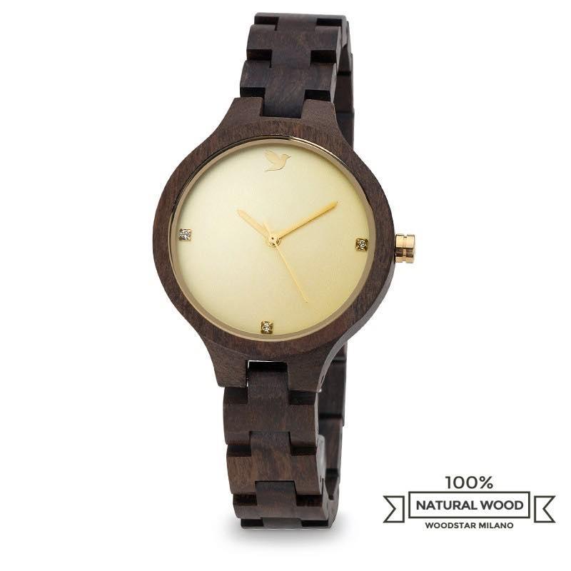 orologio in legno matis woodstar