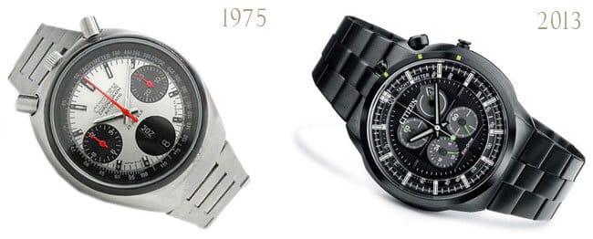 orologi Citizen Bullhead del 1975 al 2013