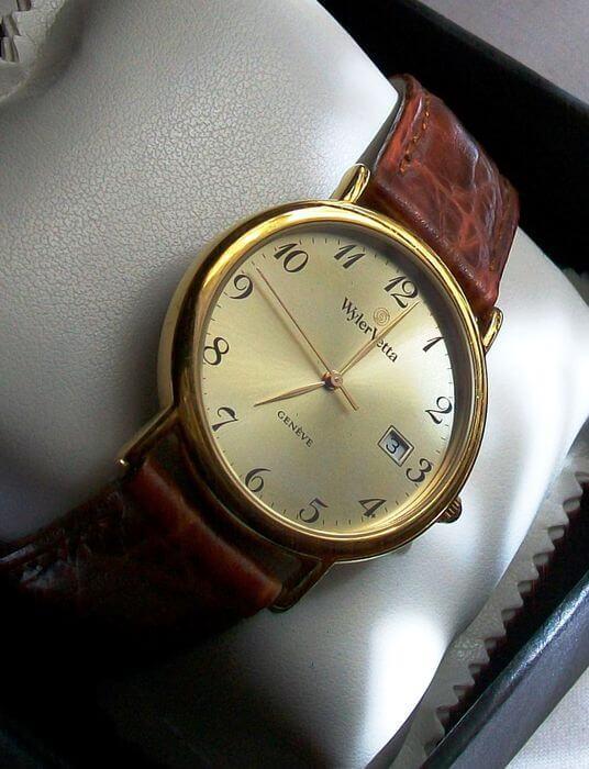 orologio wyler vetta geneve com cassa in tenuta stagna