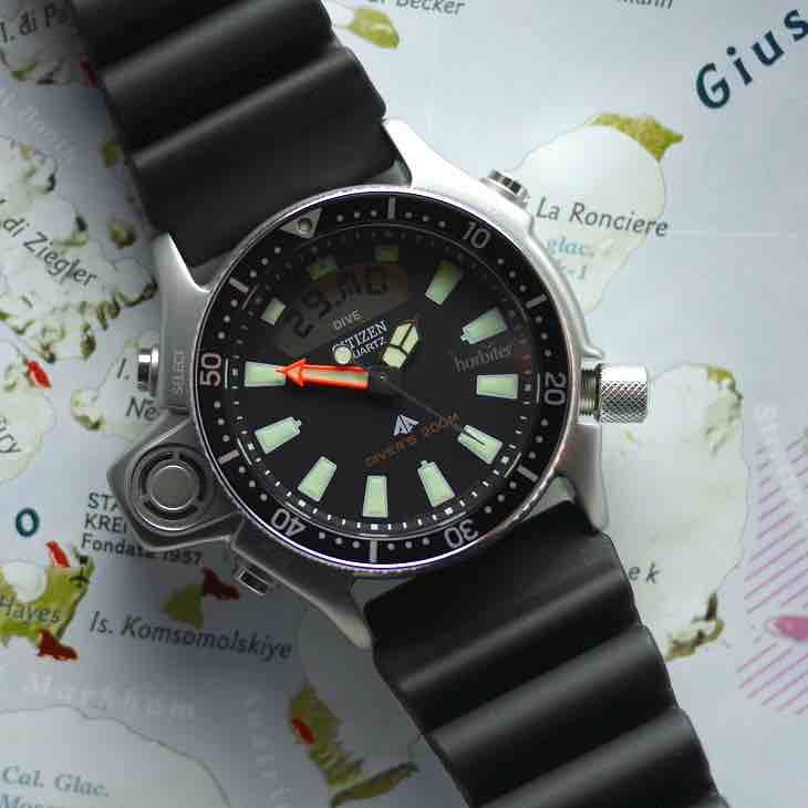 Il Citizen Promaster Aqualand JP2000-8E