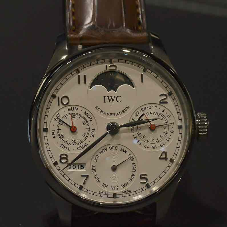 Iwc portoghese perpetual dell'aano 2016