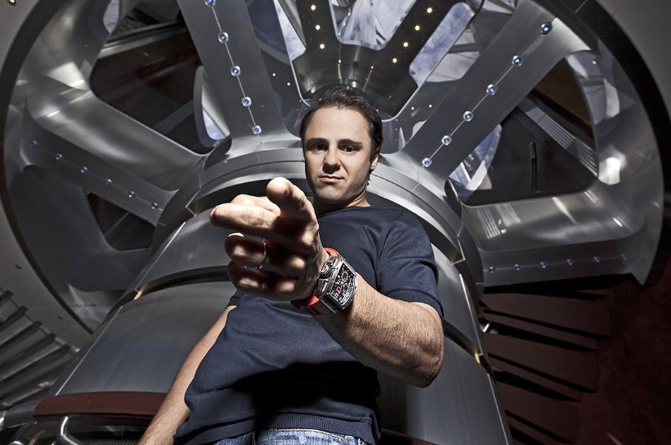 Orologio Richard Mille di Felipe Massa