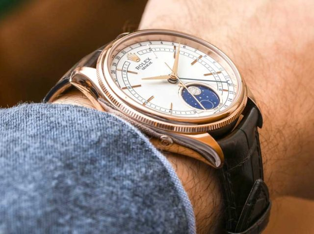 Rolex Cellini Moonphase con referenza 50535