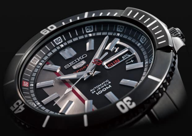 Seiko 5 Sports Linea Explorer