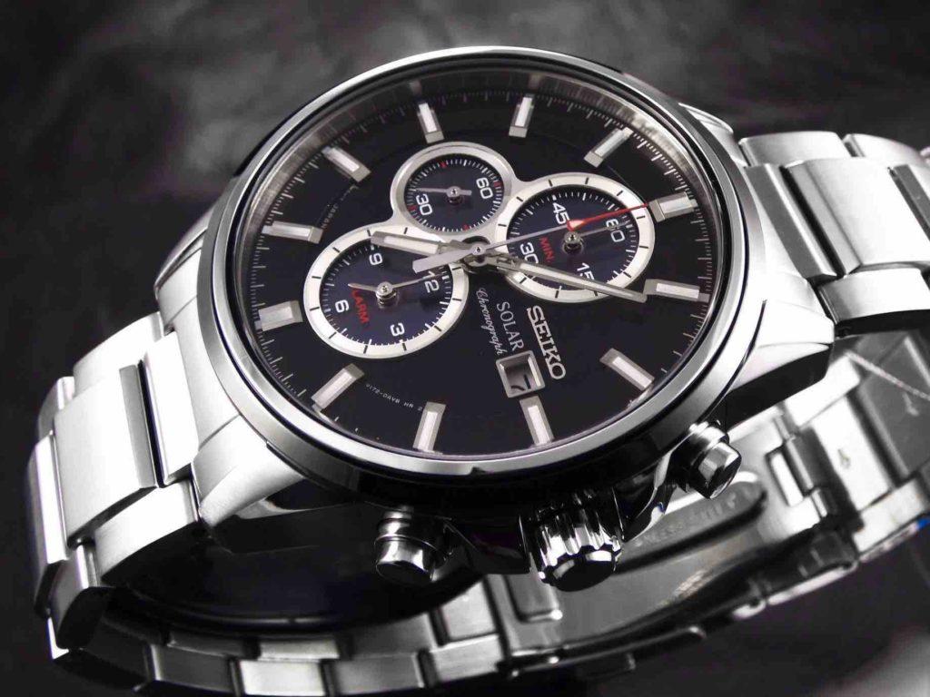 Modelli orologi Seiko Solar Solo Tempo V172