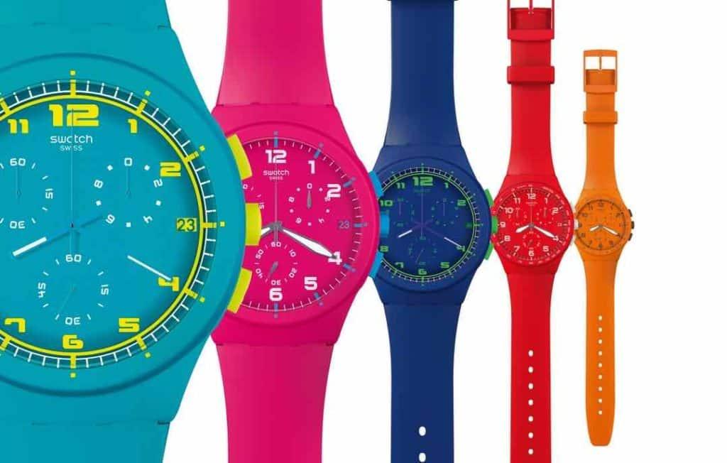 swatch orologi bambini