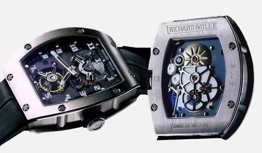 Timepieces RM 001 Tourbillon del 2000