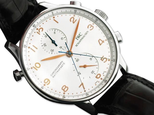 orologio IWC Portoghese rattrapante art. Iw23