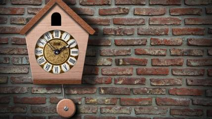 orologio a cucù storia