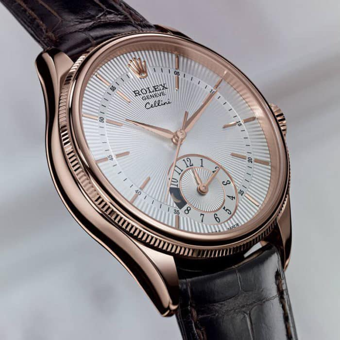 rolex Cellini Dual Time con referenza 50525