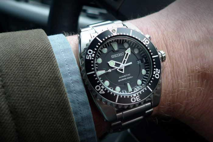 Seiko Kinetic Divers SKA371P2