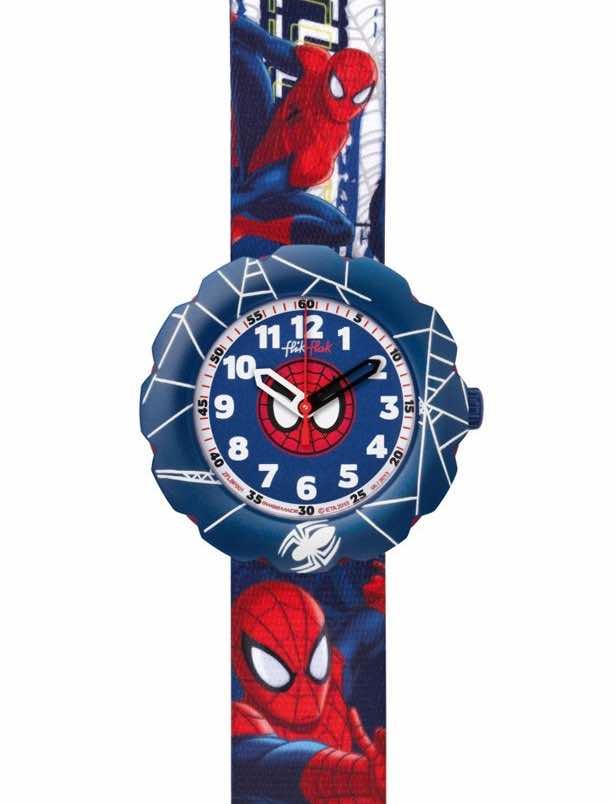 swatch spiderman per bambini