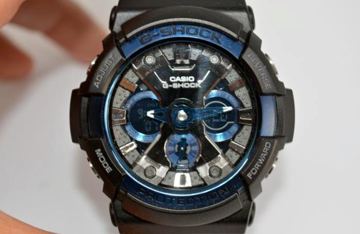 dettagli quadrante  Recensione Casio G-Shock GA-200CB-1AER