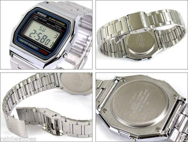 orologio vintage Casio a158wa