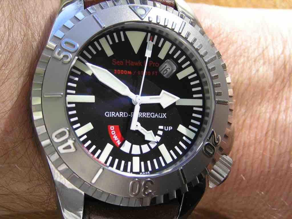 orologio Girard Perregaux Sea Hawk II Pro   49940-21-631-FK6D