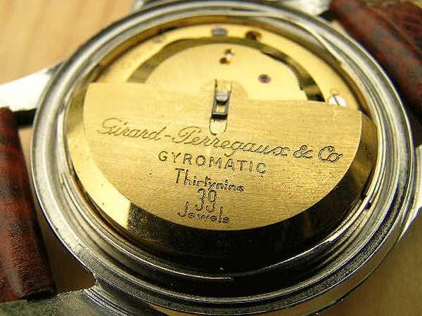 orologio vintage Girard Perregaux gyromatic