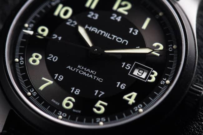 orologio Hamilton khaki field titanium