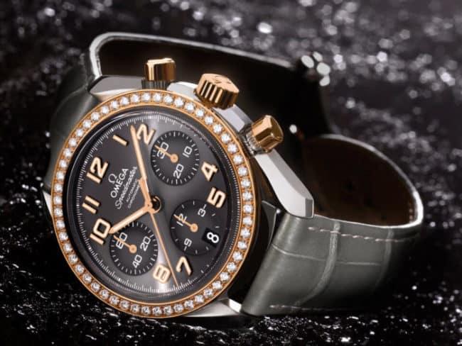 orologio da donna in oro Omega Speedmaster Cronograph 38