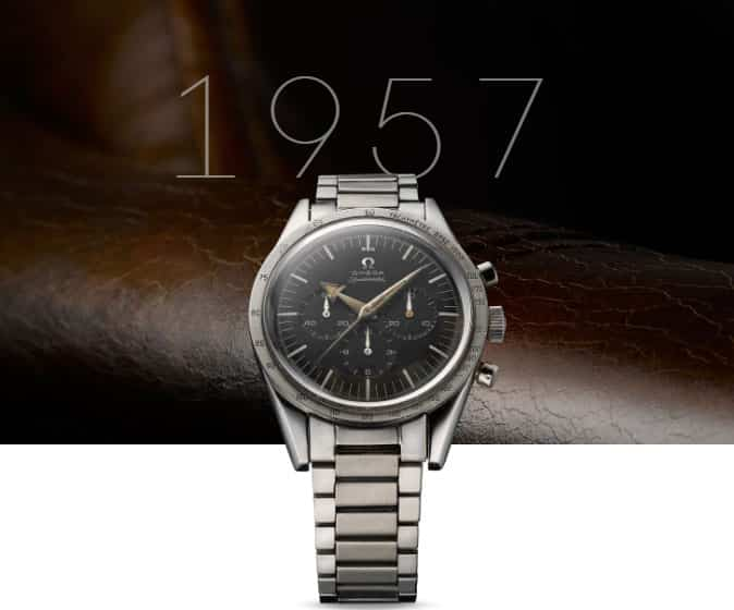 primo orologio Omega Speedmaster 1957