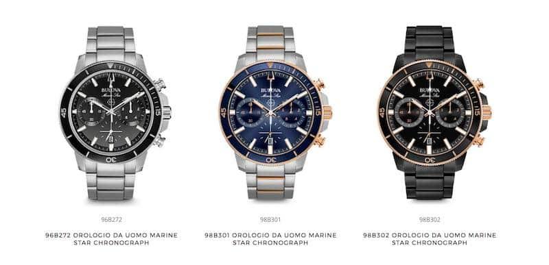 nuova collezione di Orologi Da Uomo Marine Star Chronograph