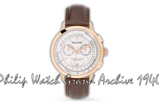 Philip Watch Grand Archive 1940