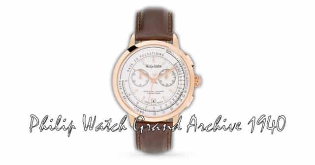 Recensione Philip Watch Grand Archive 1940