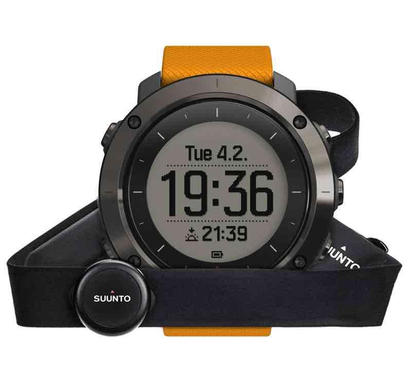 Orologio Suunto Traverse Amber con GPS per l'outdoor