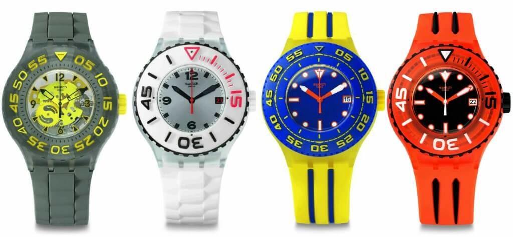 collezione Swatch Scuba Libre