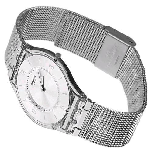 orologio in metallo Swatch Skin Metal Knit