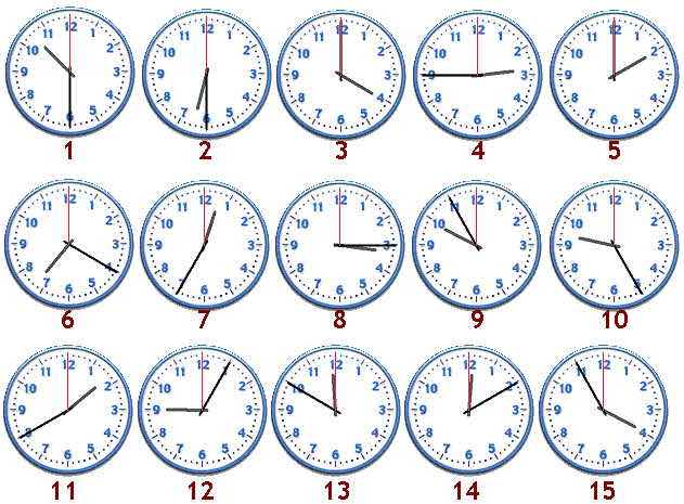 Informazioni su What time is it?