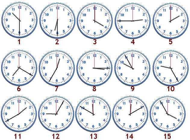 Extrêmement Orologio in inglese: Come leggere l'orario in inglese PW78