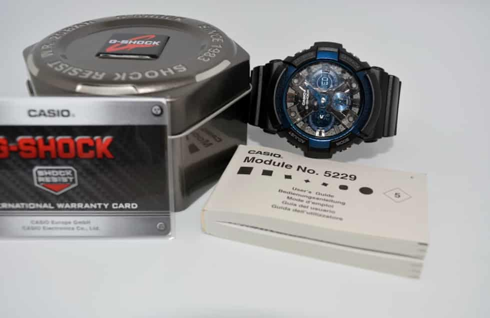 Scatola e box  Recensione Casio G-Shock GA-200CB-1AER