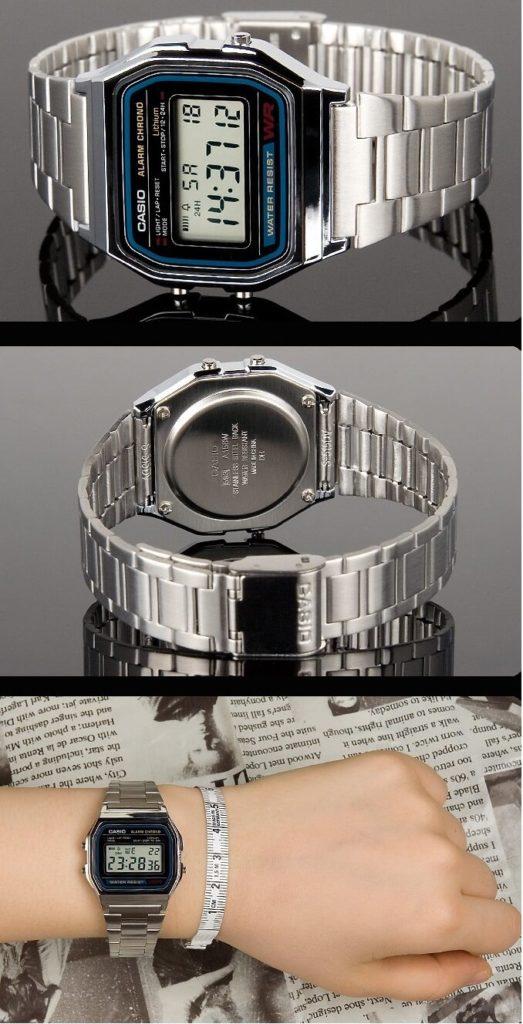 orologio vintage casio a158