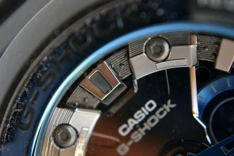 dettagli cassa e quadrante  Recensione Casio G-Shock GA-200CB-1AER
