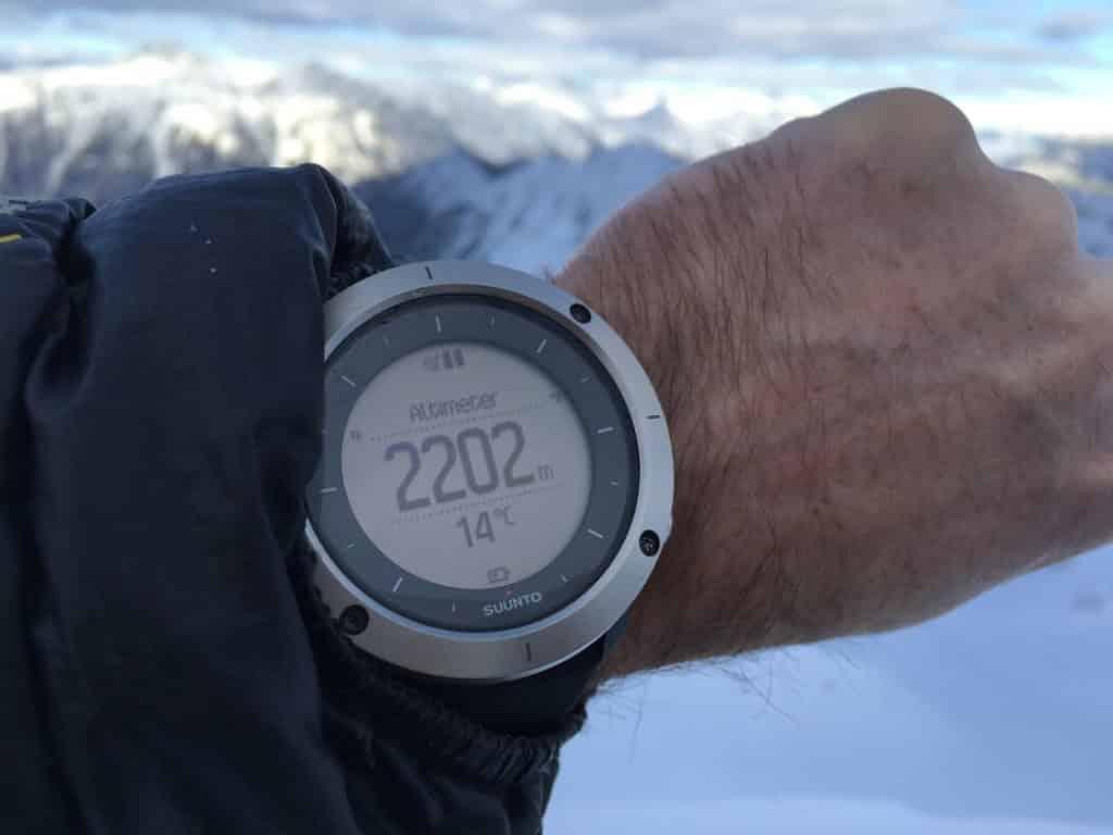 orologio sportivo Suunto Traverse testato in montagna