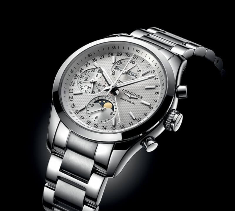 Longines Conquest Moonphase con referenza referenza L2.798.4.72.6