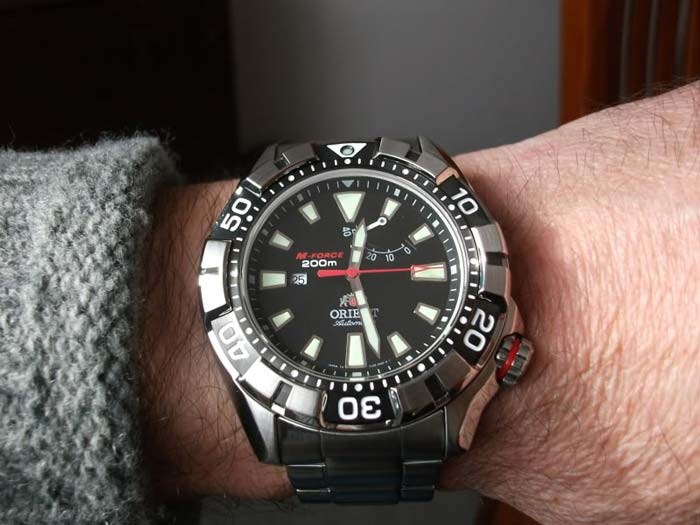 Orient M-Force 200m Air Diver