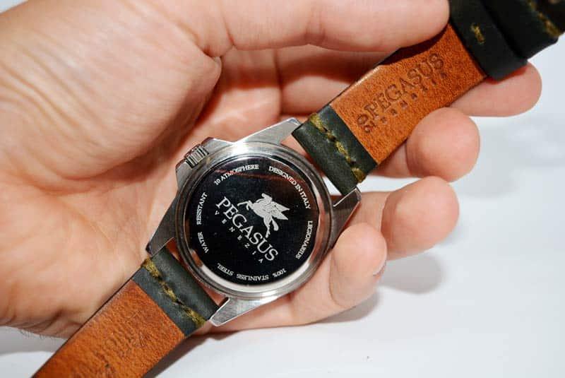 cassa orologio da uomo Pegasus Watches Legionary
