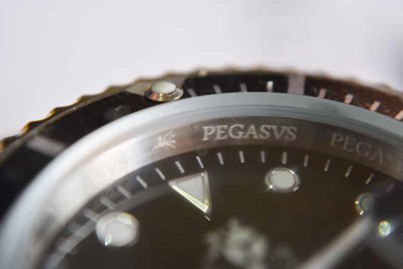 incisioni orologio da uomo Pegasus Watches Legionary