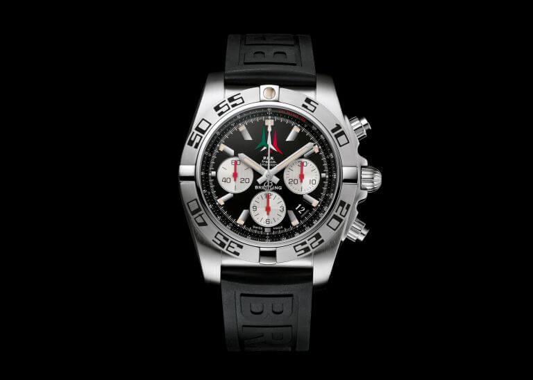"""Breitling Chronomat 44 Frecce Tricolori con quadrante """"P.A.N.""""."""