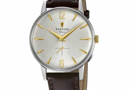 Novità: Festina Extra 1948, orologi 'modernamente' vintage.